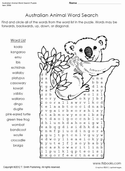 Mammals Worksheets for 2nd Grade Free Animal Word Search Mammals Worksheets