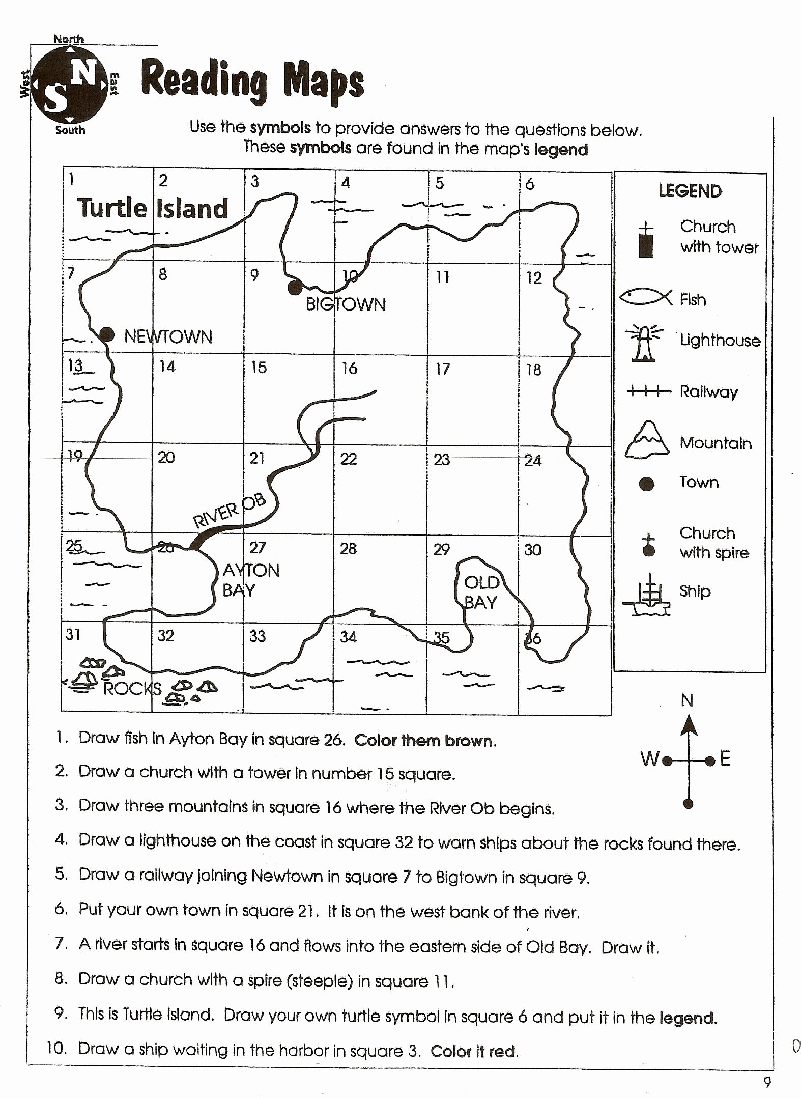 Map Scale Worksheet 3rd Grade top Using Map Scale Worksheet
