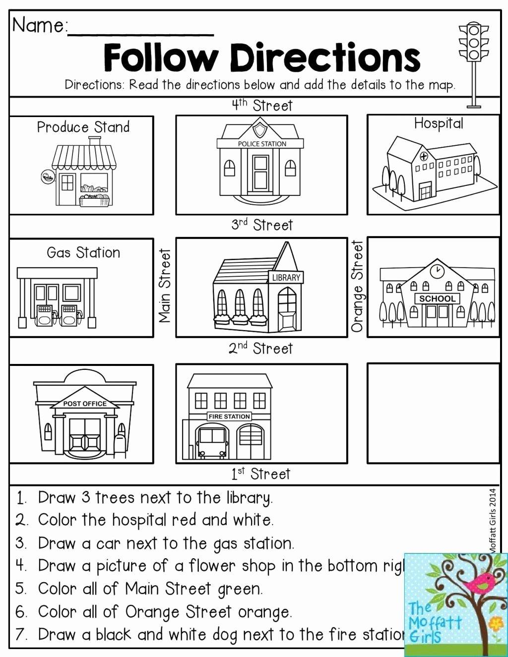 Map Skills Worksheet 2nd Grade Lovely Map Skills Worksheets to You Map Skills Worksheets