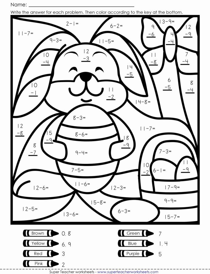 Math Coloring Worksheets 5th Grade Inspirational Coloring Colouring In Maths Game Math Activity Worksheets