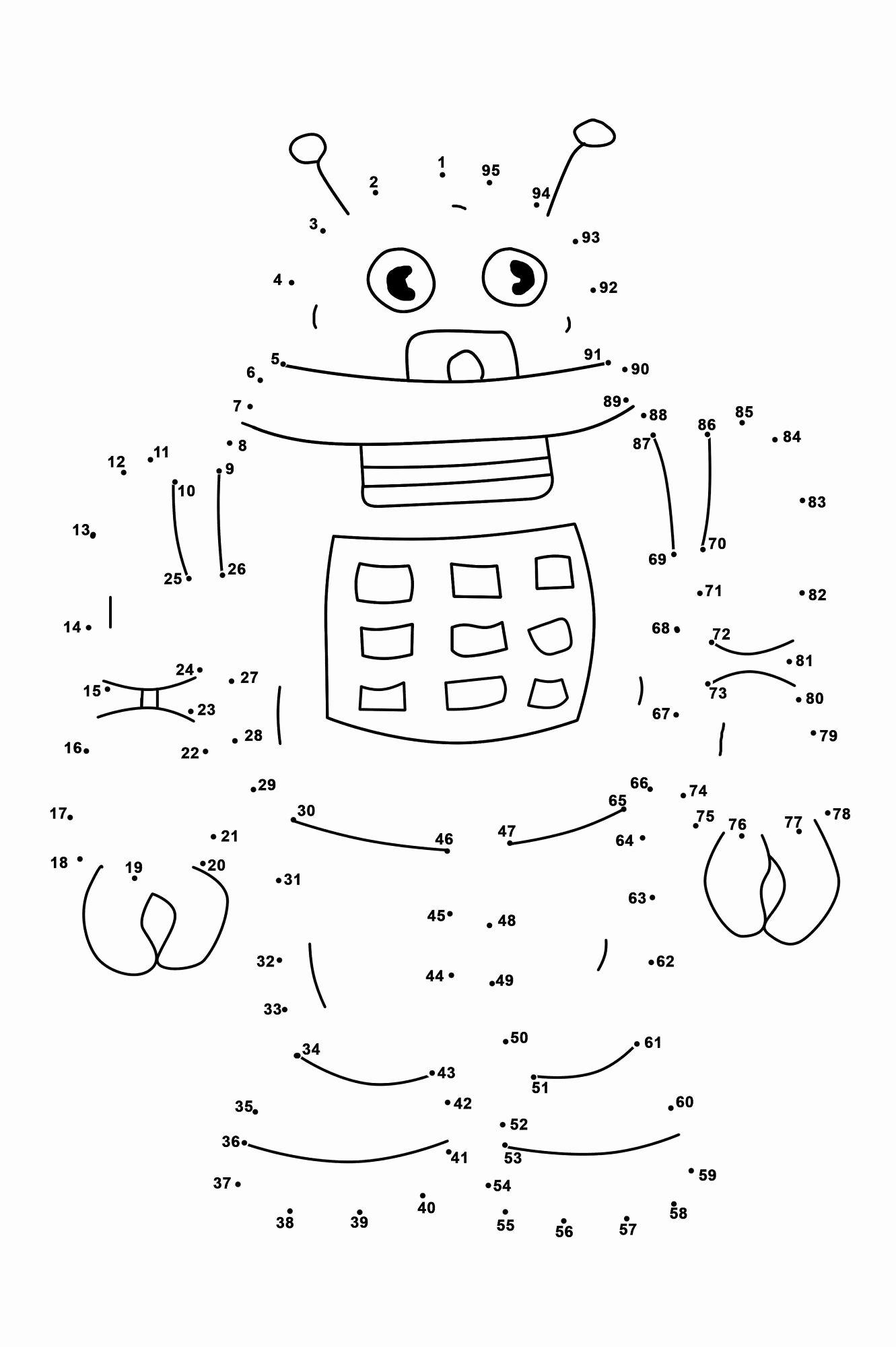Math Dot to Dot Worksheets Ideas Dot to Dots Worksheets for Kindergarten