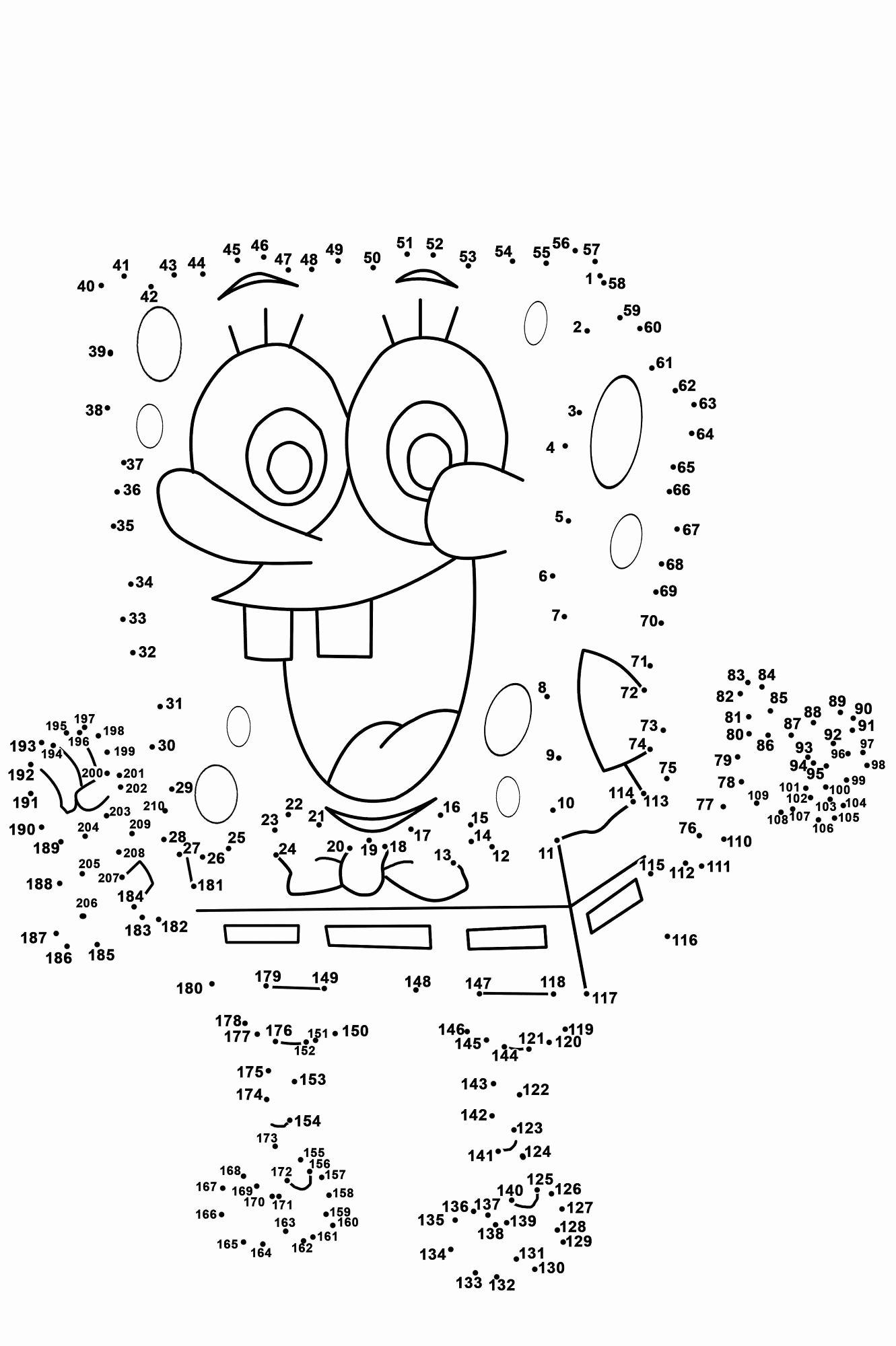 Math Dot to Dot Worksheets New Dot to Dot Printables