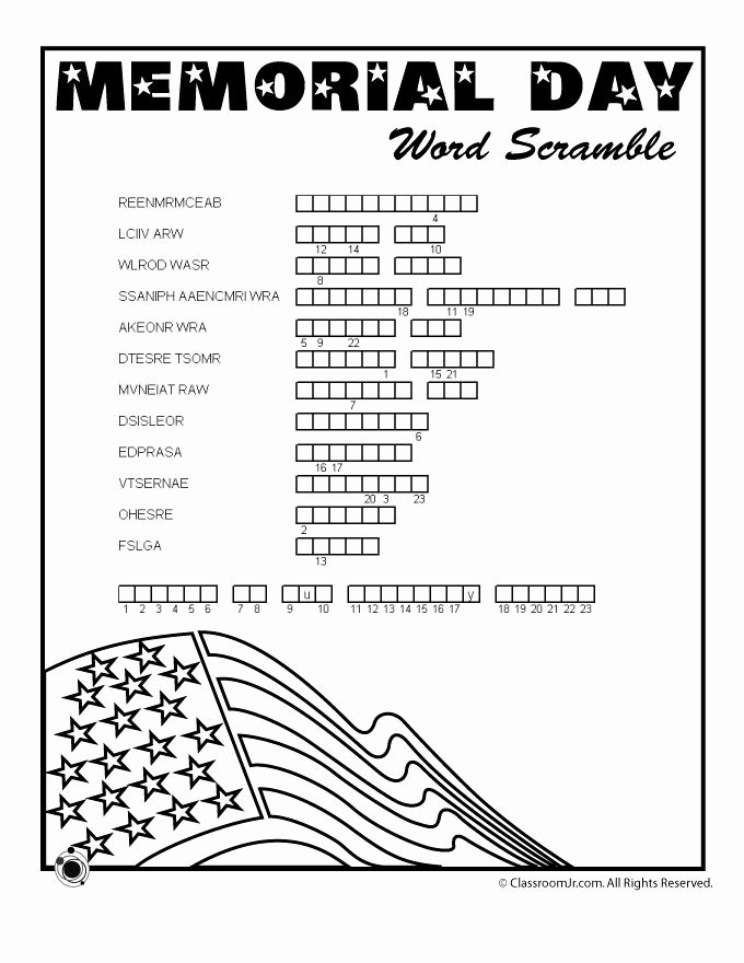 Memorial Day Worksheets First Grade Lovely Memorial Day Worksheets First Grade Memorial Day Worksheets