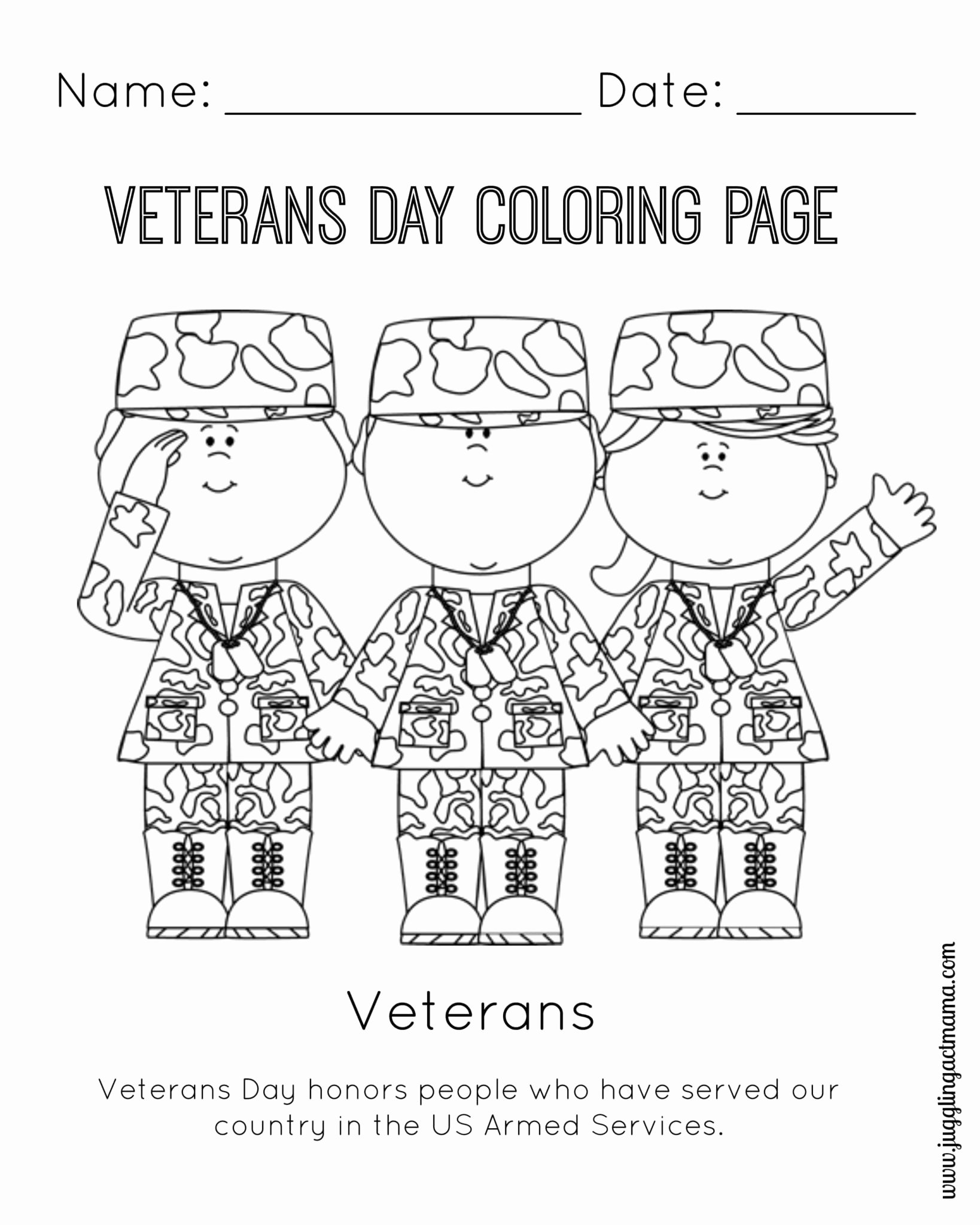 Memorial Day Worksheets for Kids Best Of Veterans Craft Kindergarten Worksheet Printable Worksheets