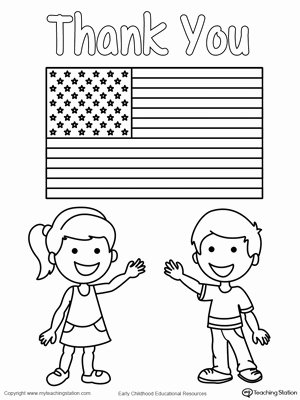 Memorial Day Worksheets for Kids Lovely Memorial Day Thank You Heros