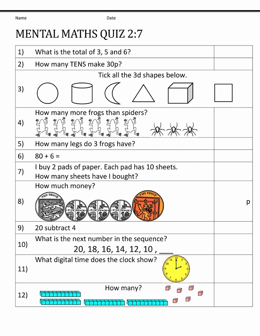 Mental Math Worksheets Grade 3 Best Of Math Worksheet Year Maths Worksheets Mental Math Worksheet
