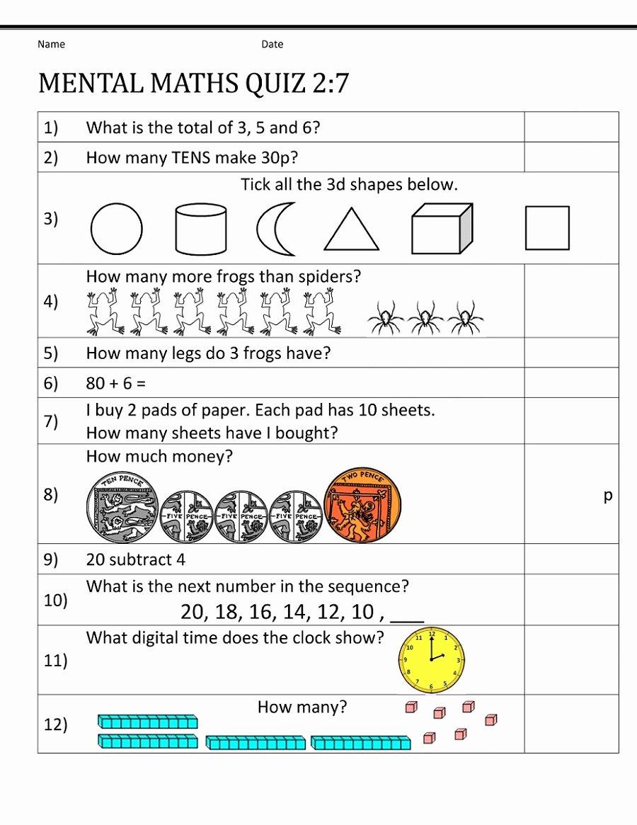 Mental Math Worksheets Grade 3 Best Of Math Worksheet Year Maths Worksheets Mental Math Worksheet