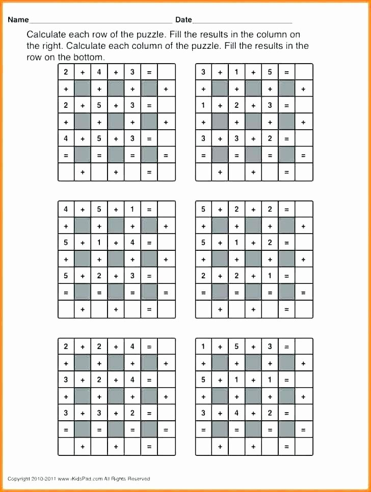 Middle School Math Puzzles Printable Best Of Middle School Math Puzzles Printable Free Fun Worksheets for