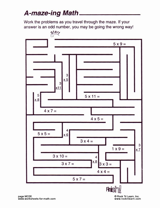Middle School Math Puzzles Printable New Std Maths Worksheetsmiddle School Math Puzzle Worksheets Fun