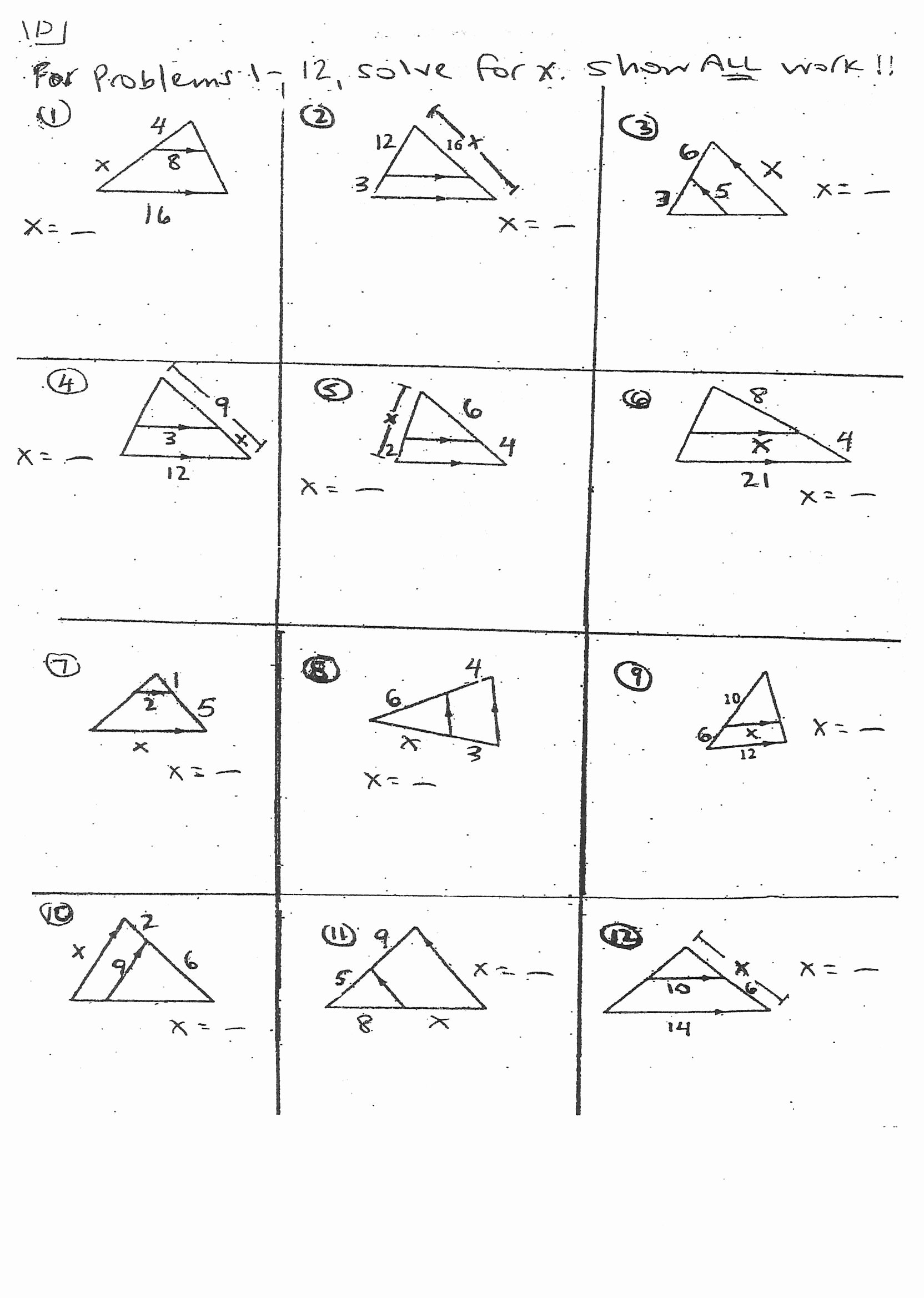 Midsegment Of A Triangle Worksheet Inspirational Image Result for Triangle Midsegments Worksheet