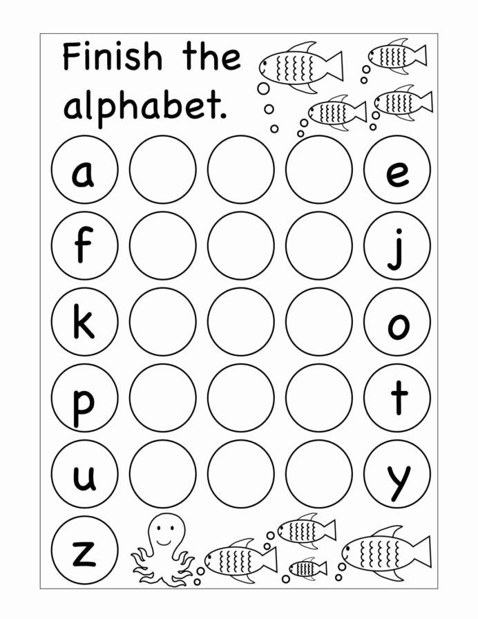 Missing Letters Worksheets for Kindergarten Inspirational Winter Missing Letters Kindergarten Worksheet Printable