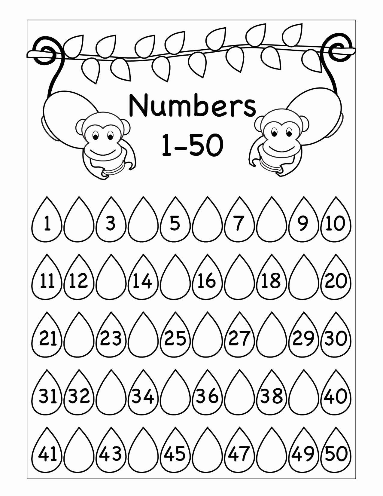 Missing Number Worksheets 1 20 Best Of Missing Numbers Worksheet Printable Worksheets and Tracing