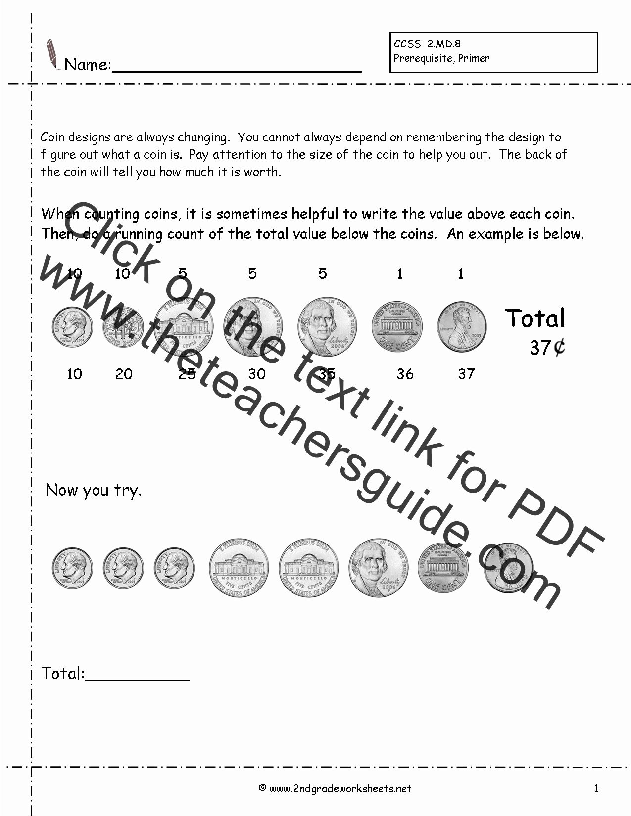 Money Worksheets for Second Grade Printable Adding Money Worksheets 2nd Grade Making Money Kenya