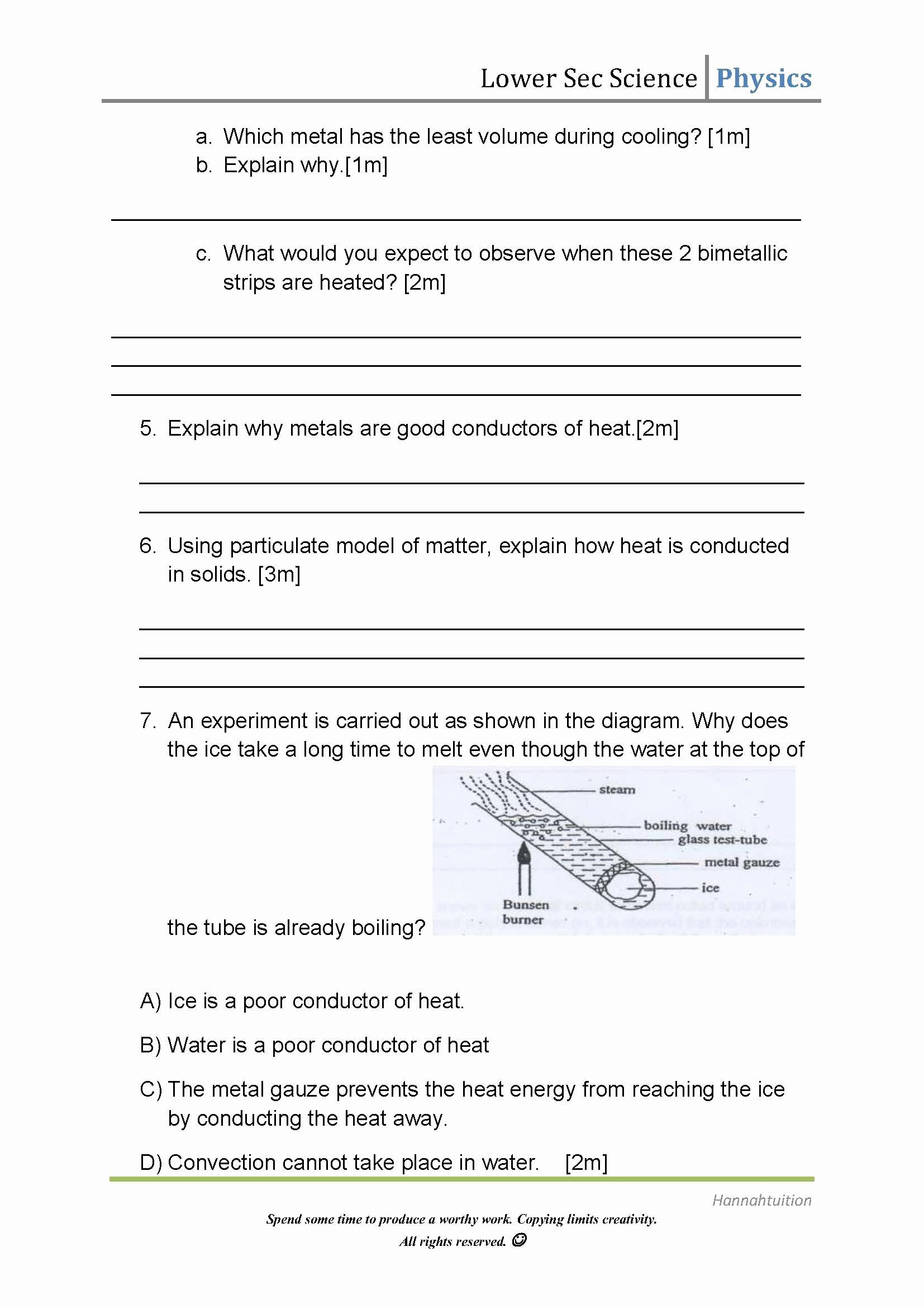 Methods Of Heat Transfer Worksheet Best Of Heat Transfer Worksheet Matching