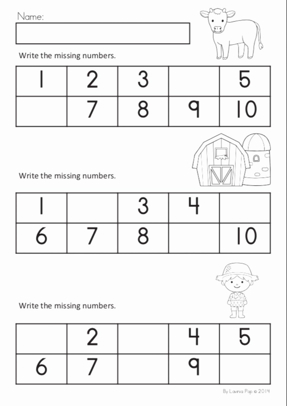 Missing Number Worksheets 1 10 Best Of Missing Numbers 1 10 Interactive Worksheet