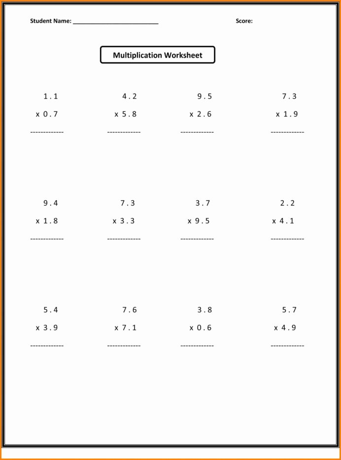 Multiplying Fractions Worksheet 6th Grade Kids Math for Grade Students Reading Cvc Words Worksheets