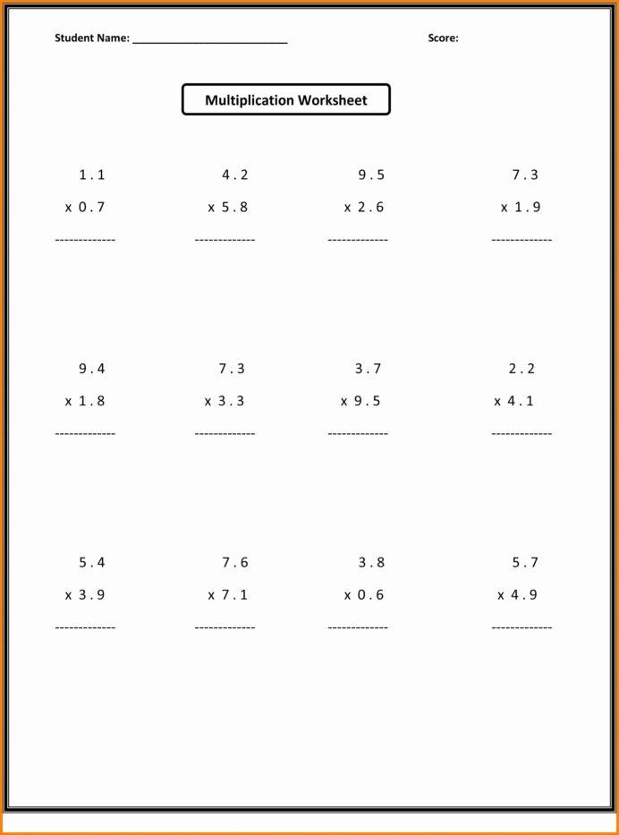Multiplying Fractions Worksheet 6th Grade Kids Math for Grade Students Reading Cvc Words Worksheets