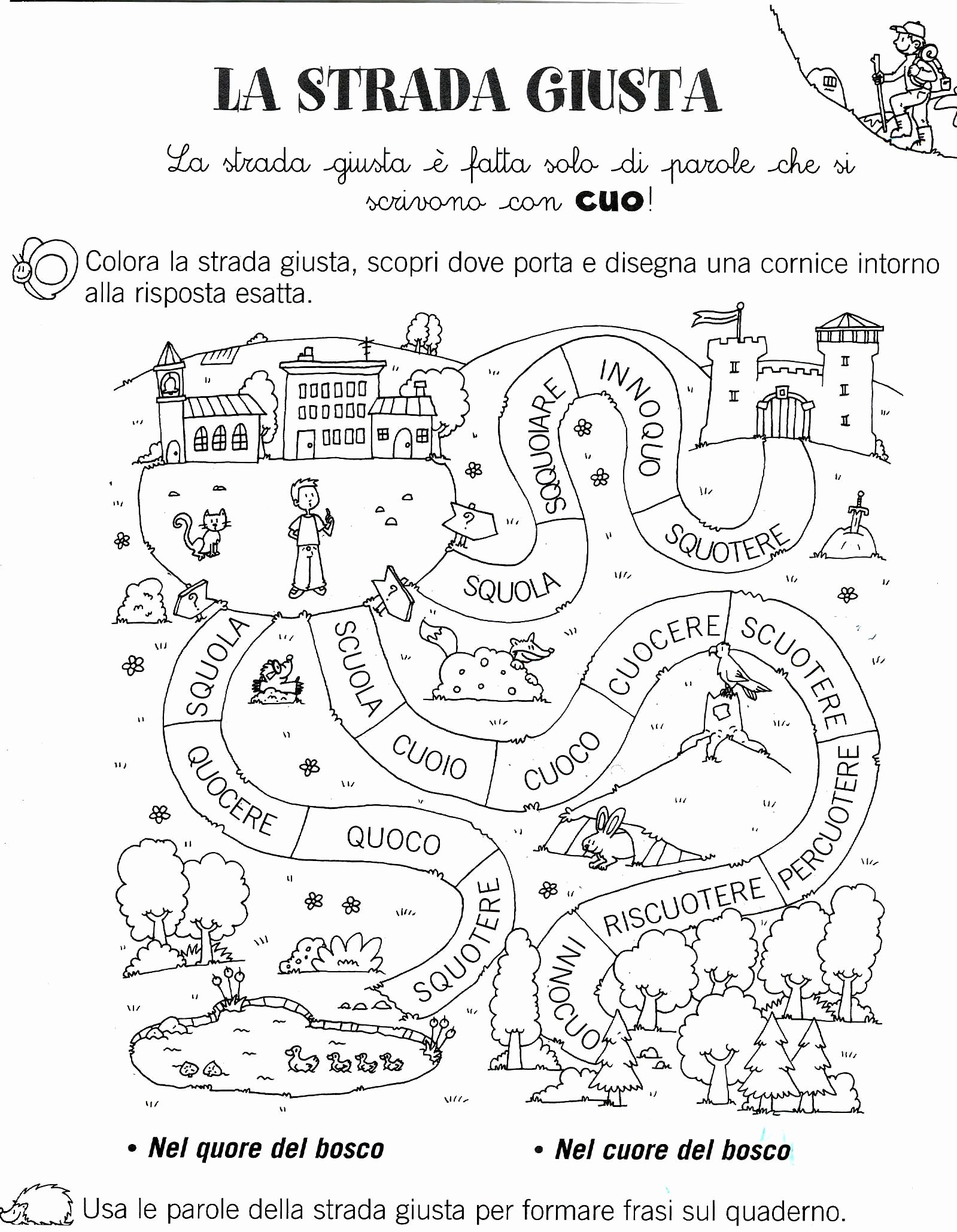 Music Worksheets for Middle School Printable Italian Worksheet Grade Printable Worksheets and Activities
