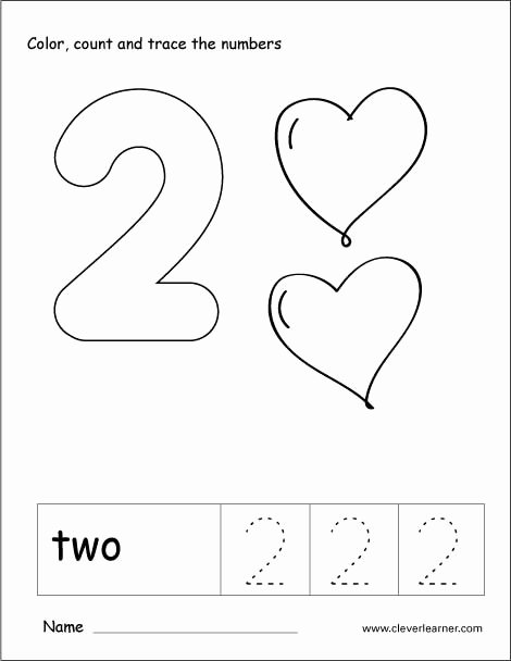 Number 2 Worksheets for Preschool Inspirational Number 2 Worksheets for Preschool Worksheets Kumon Workbooks