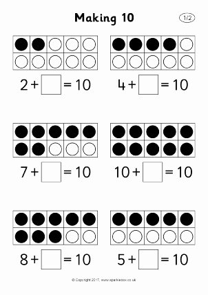Number Bonds to 10 Worksheet Free Number Bonds to 10 Activities and Teaching Resources