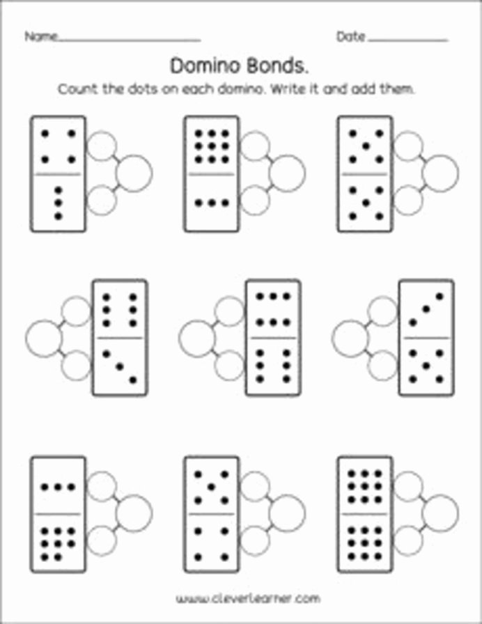Number Bonds Worksheets 1st Grade Printable Number Bonds Worksheets for Printable Army Math Test