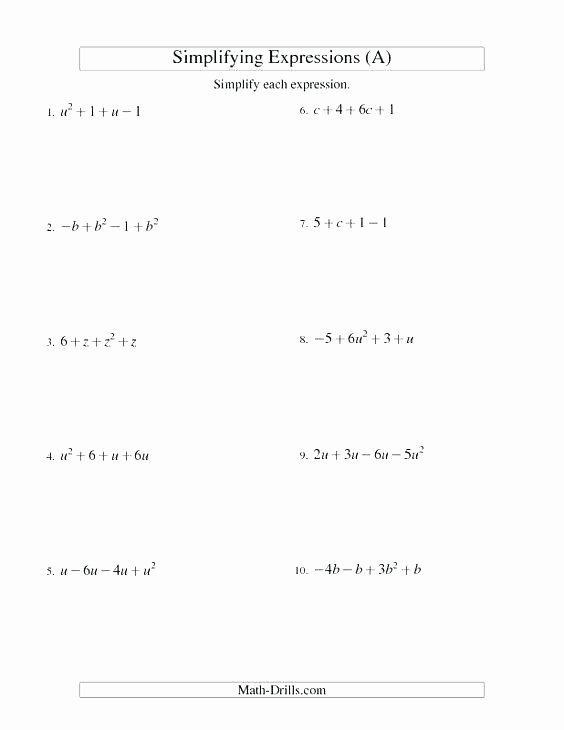 evaluate expressions worksheet 6th gradegebraic worksheets pdf free equations