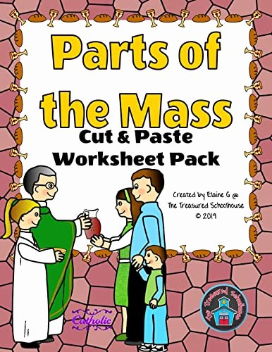 Order Of the Mass Worksheet New Parts Of the Mass Cut & Paste Worksheet Pack