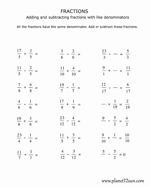 Ordering Fractions Worksheet 4th Grade Lovely Worksheet Marvelous 4th Grade Fractions Worksheets Picture