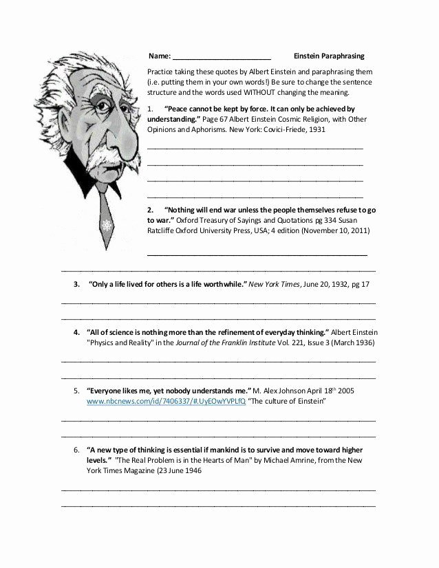 Paraphrasing Worksheets for Middle School Free Pin On Worksheet Templates for Student