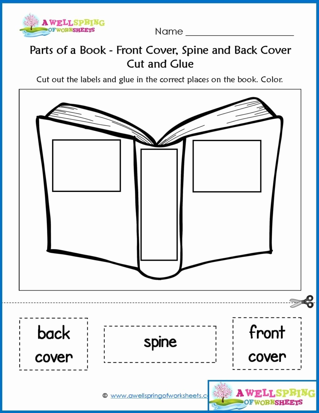 Parts Of A Book Worksheet Inspirational Worksheet Worksheetr Kinder Worksheets by Subject