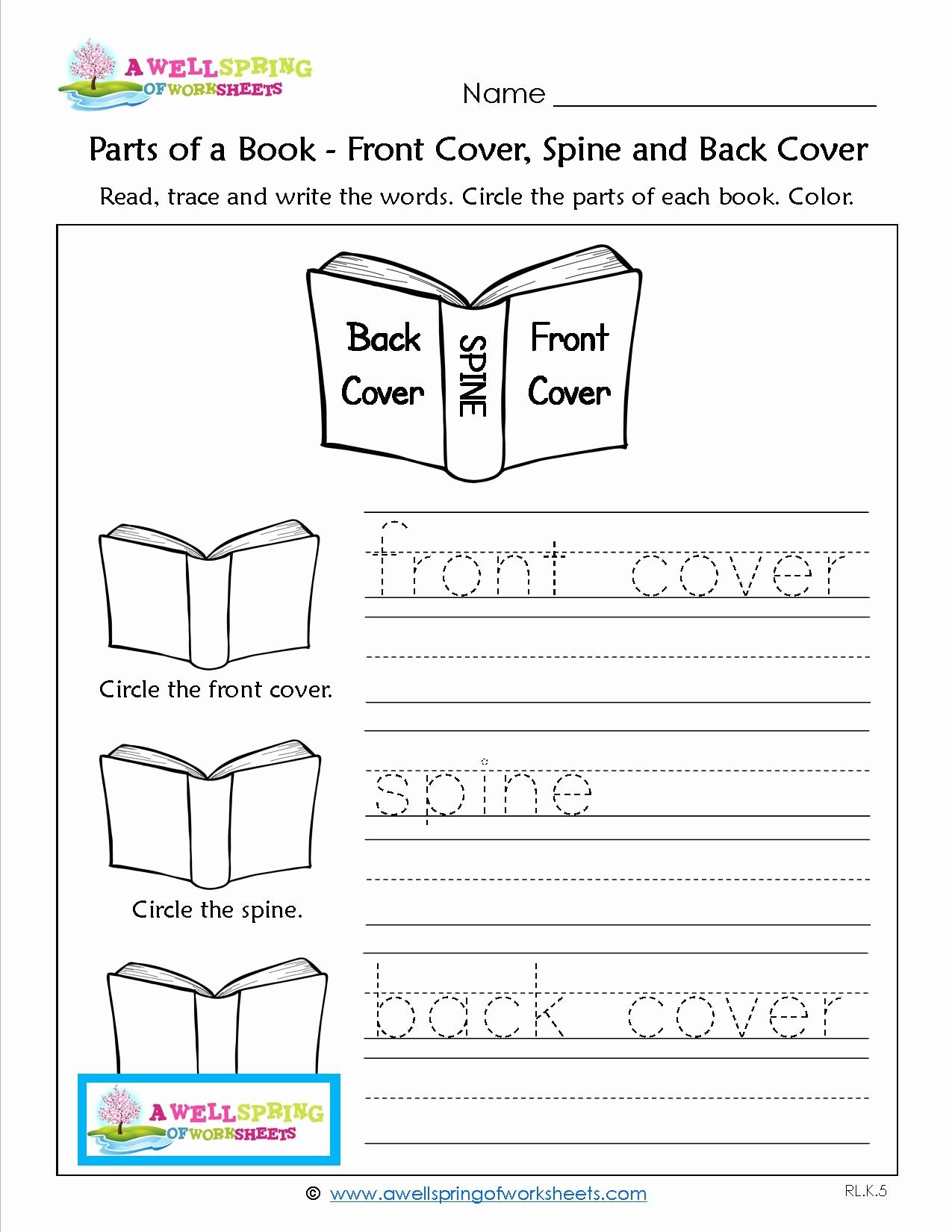 Parts Of A Book Worksheet Inspirational Worksheets by Subject A Wellspring Of Worksheets