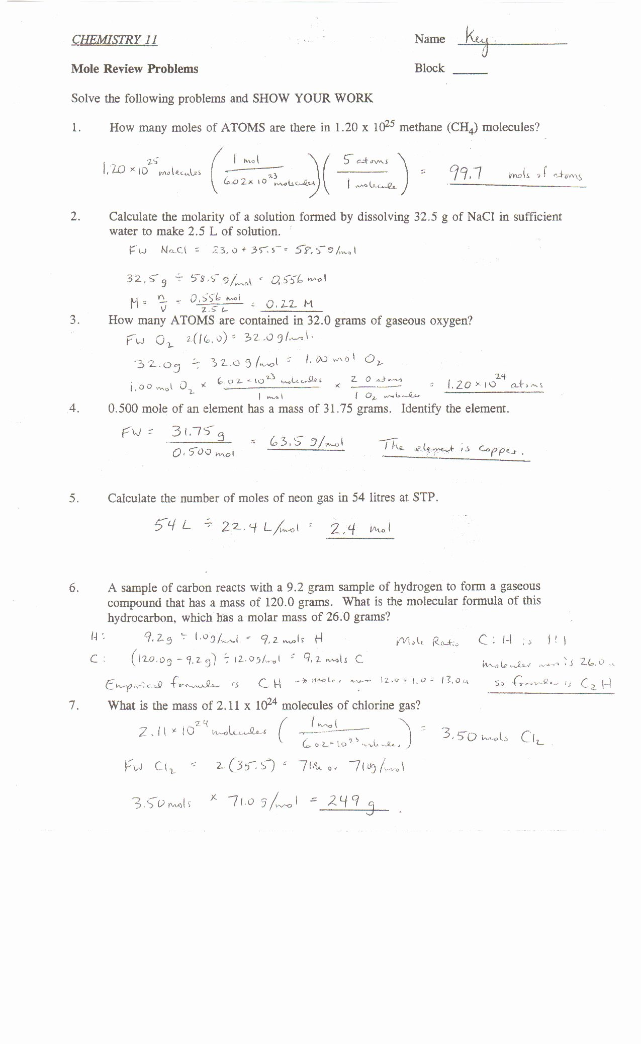 Percent Error Worksheet Answer Key Free Point Grey Secondary School