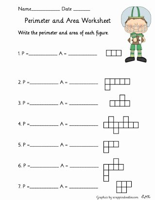 Perimeter Worksheet for 3rd Grade top Free Worksheets Perimeter and area