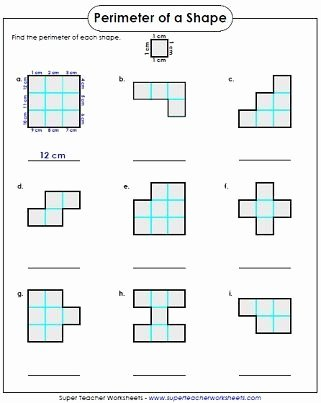 Perimeter Worksheets for 3rd Grade Lovely Perimeter Worksheets Year 3 In 2020