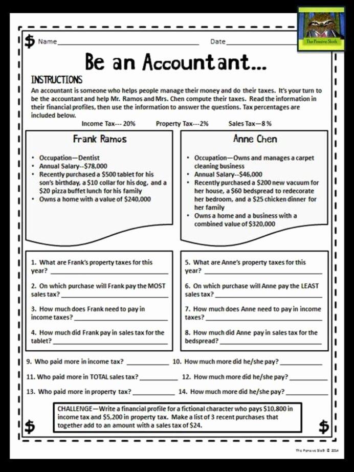 Personal Finance High School Worksheets Fresh Wordpress Financial Literacy Worksheets Personal for