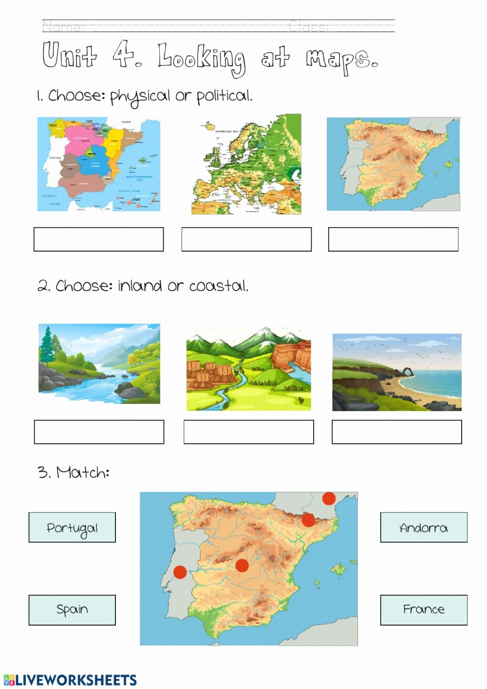 Physical and Political Maps Worksheets Best Of Maps Interactive Worksheet