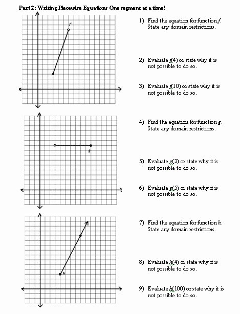Piecewise Functions Word Problems Worksheet Lovely 35 Piecewise Functions Word Problems Worksheet with Answers
