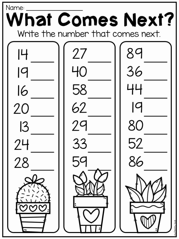 Place Value Worksheets 1st Grade Free First Grade Numbers and Place Value Worksheets Distance