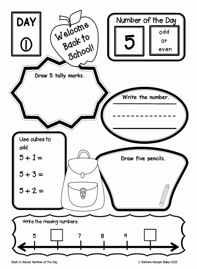 Place Value Worksheets First Grade New Morning Work Place Value Worksheets First Grade Math Number