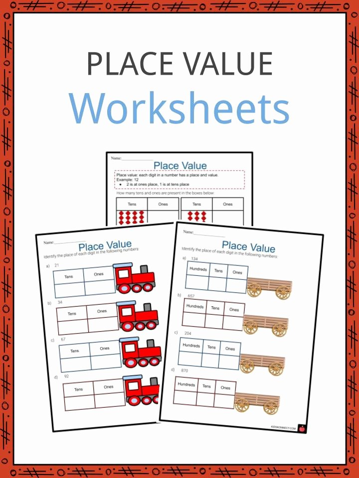 Place Value Worksheets for Kindergarten New Place Value Worksheets