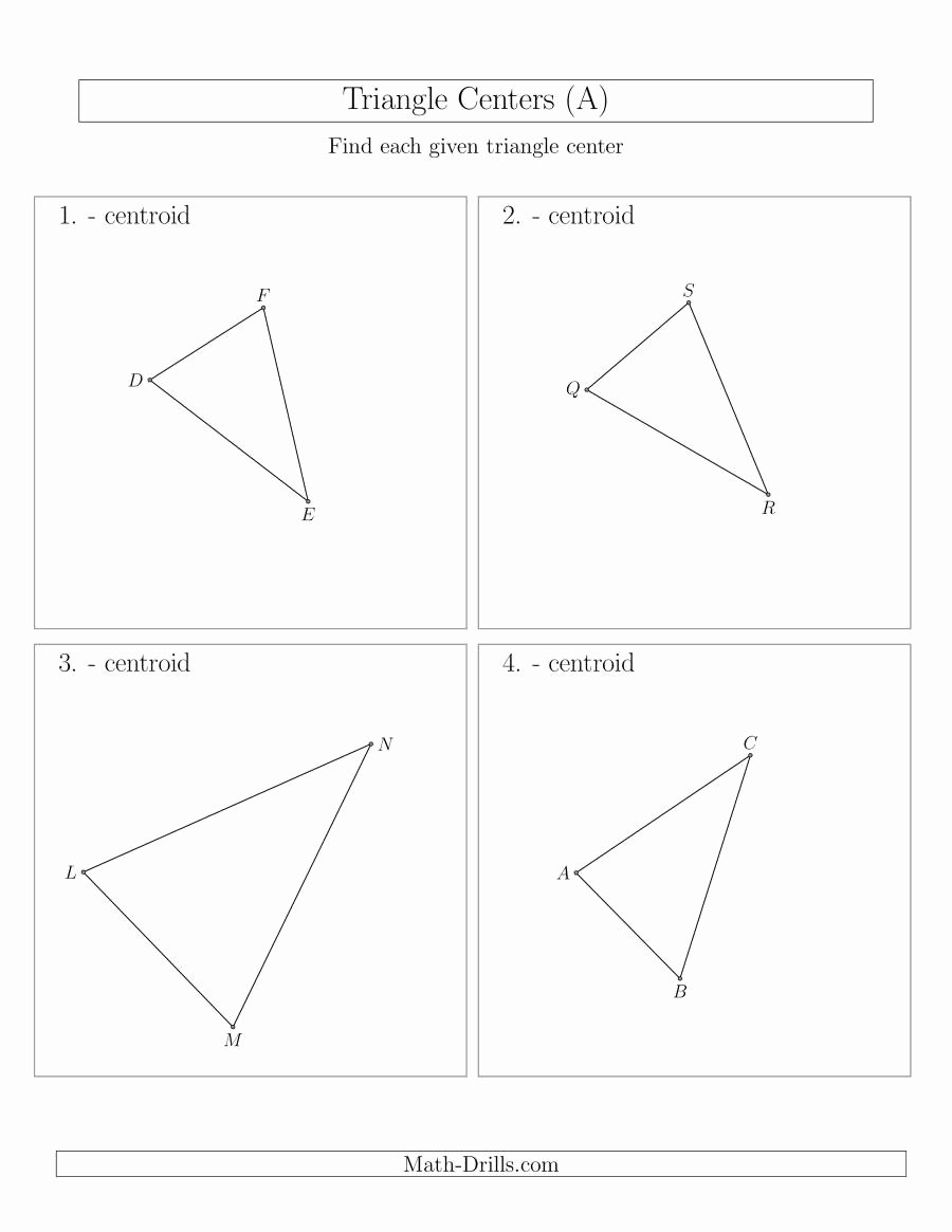 Points Of Concurrency Worksheet Answers Fresh Circumcenter Worksheet Kuta