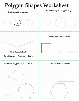 Polygon Worksheets for 2nd Grade Kids Geometry Geometry Worksheet for Kids