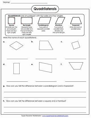 Polygon Worksheets for 2nd Grade Kids Polygon Worksheets