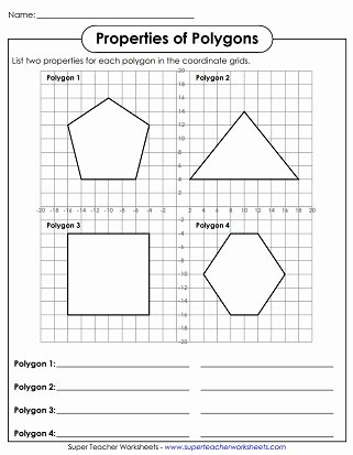 Polygon Worksheets for 2nd Grade New Polygon Worksheets
