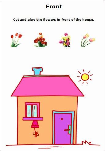 Positional Words Worksheet for Kindergarten Fresh Positional Words Worksheets for Preschool and Kindergarten