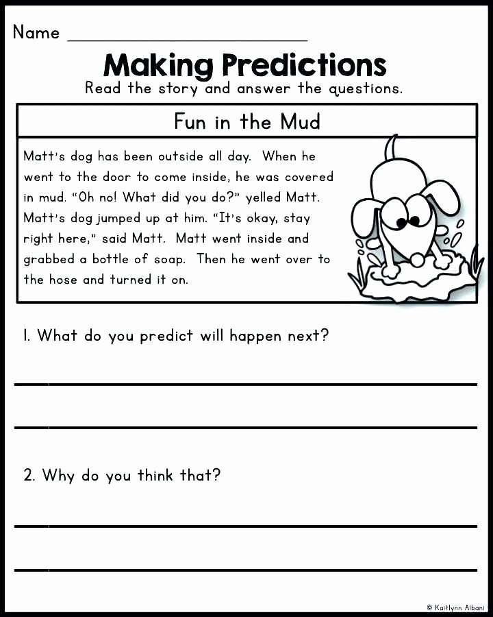 Prediction Worksheets for 3rd Grade Kids Pin On Editable Grade Worksheet Templates