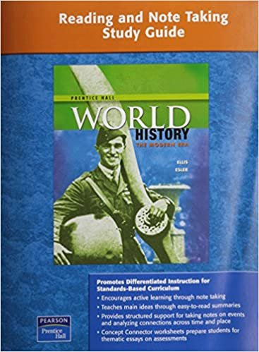 Prentice Hall World History Worksheets Free Amazon Prentice Hall World History Reading and Note