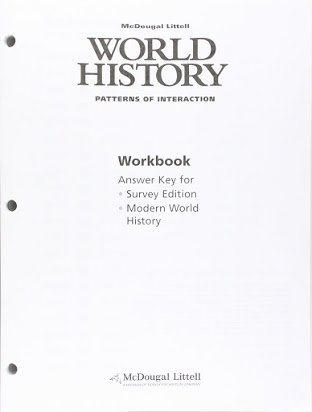 Prentice Hall World History Worksheets Inspirational Modern World History Answer Key