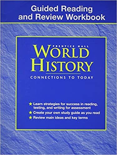 Prentice Hall World History Worksheets New Guided Reading and Review Workbook Prentice Hall World