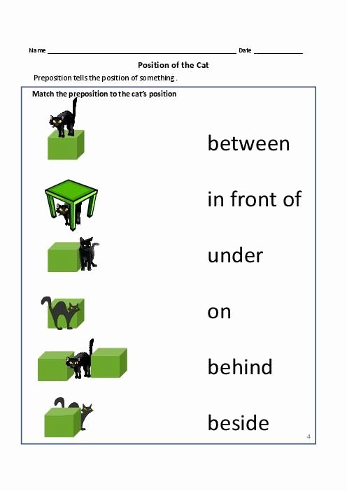 Preposition Worksheets for Grade 1 Lovely Prepositions Worksheets for Grade 1 and 2 3 496—702